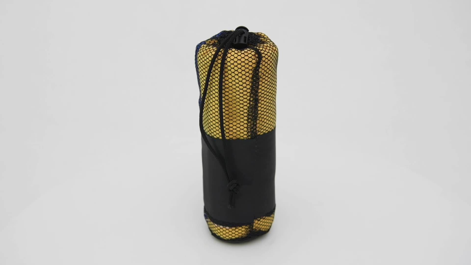 Harga Handuk Microfiber Suede Handuk Yoga Non Slip dengan Mesh Tas