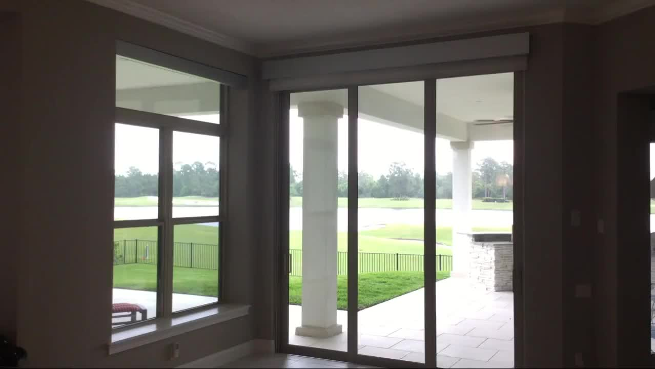 Wholesale Solar And Blackout Double View Roller Blind