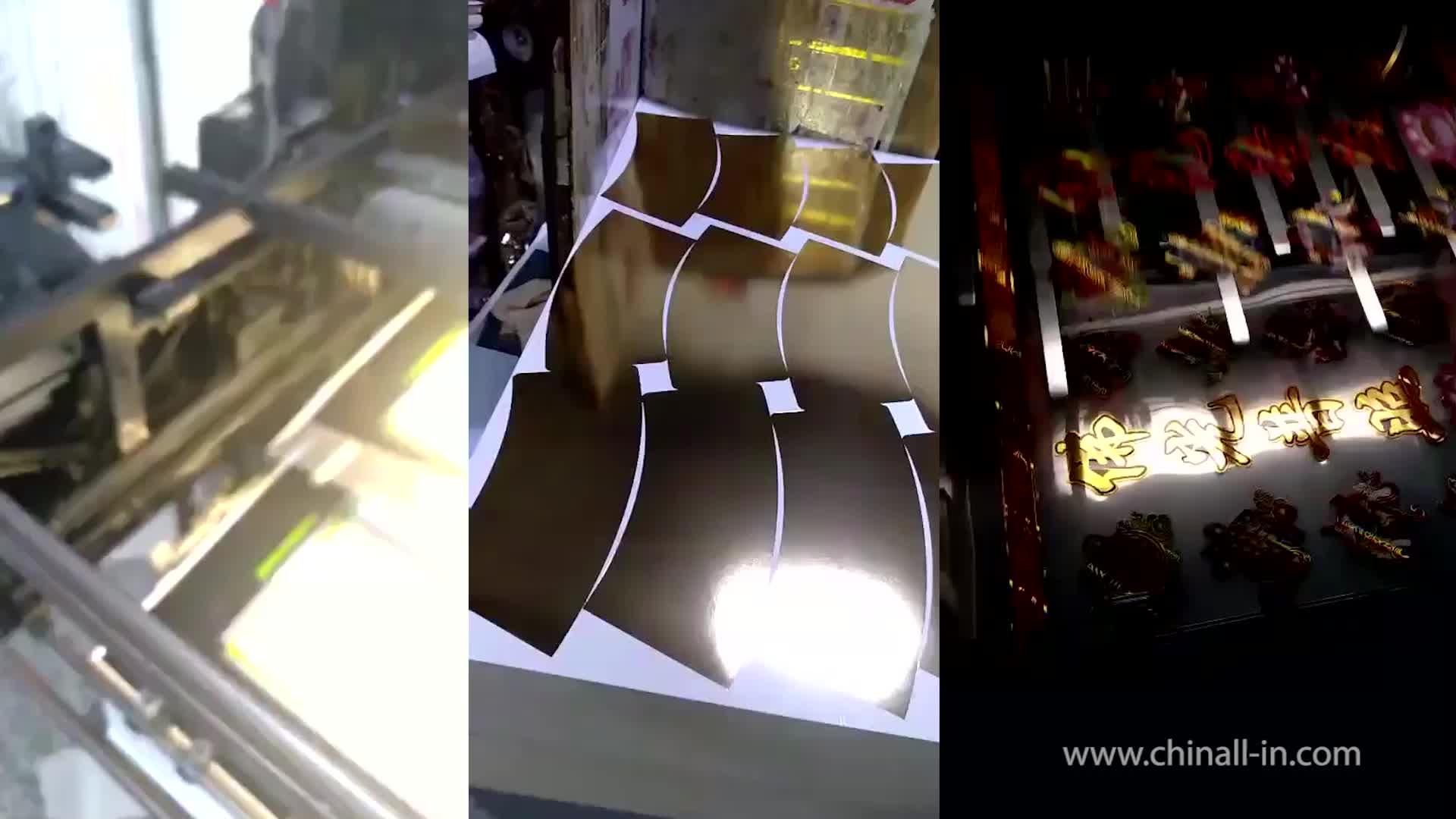 Toner reaktif Için sıcak damgalama folyo dijital folyo yazıcı