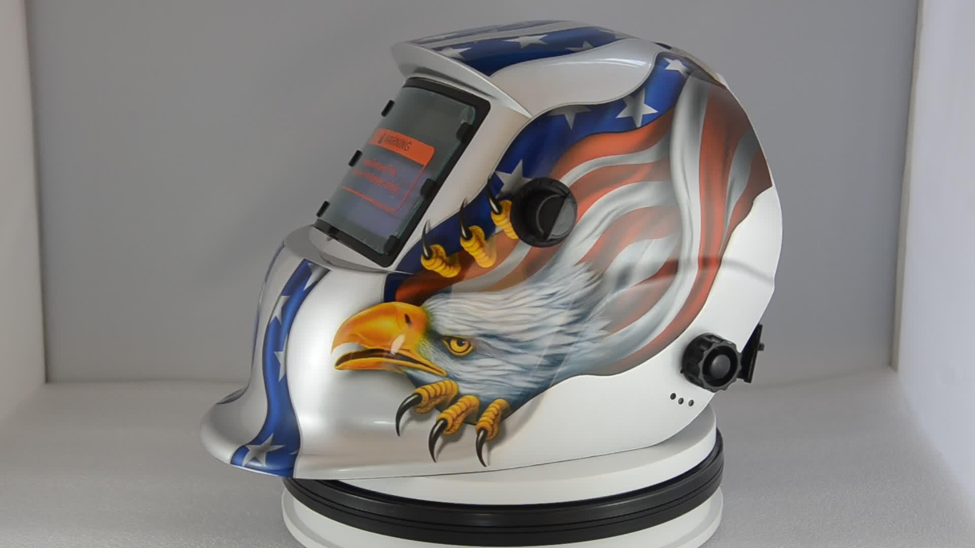 silver American Eagle best quality wholesale price welding helmets welding mask