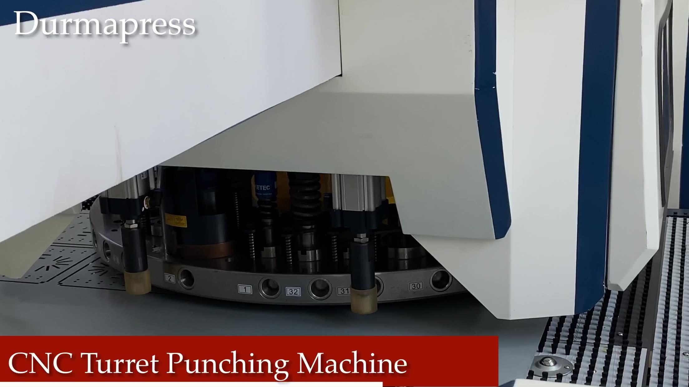 Máquina de punzonado automático Cnc, ojal de cortina, prensa Interior, punzón, torreta, punzonadora, herramientas