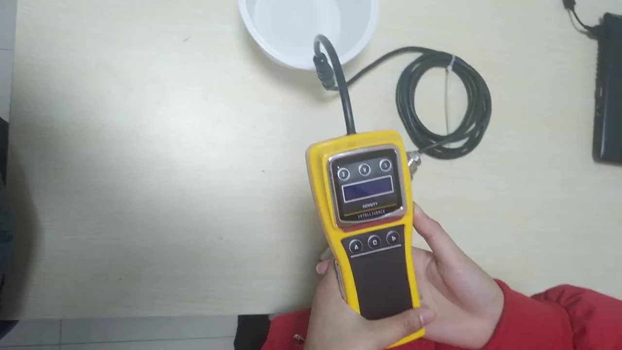 4-20ma Liquid Digital Portable Density Meter Diesel Oil Fuel  For Alcohol