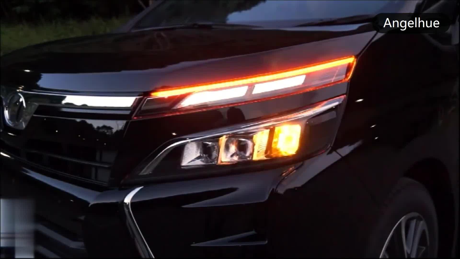 BARU LED DRL Headlamp Dengan Dinamika Turn Signal Running light