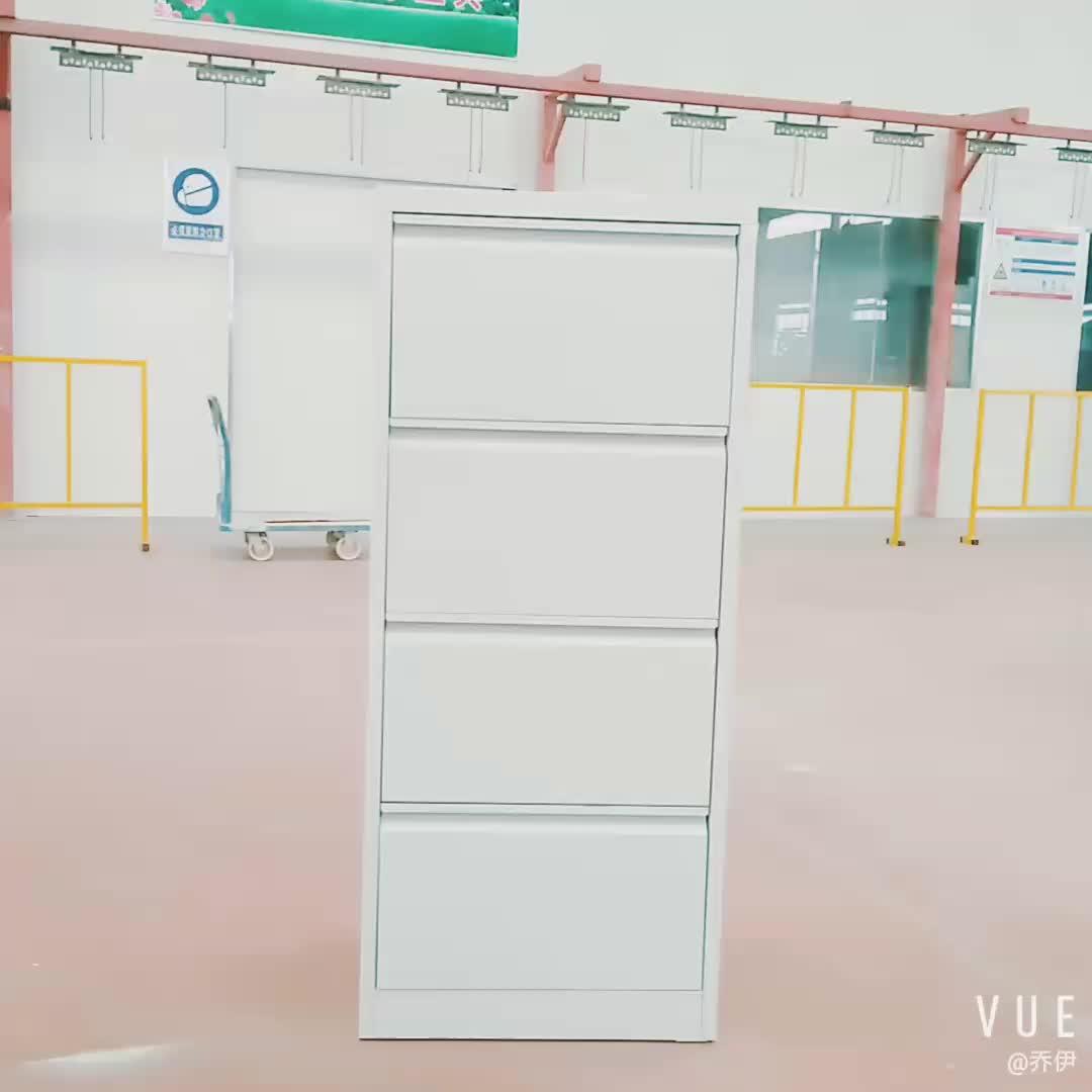 4 drawers metal vertical filing cabinet