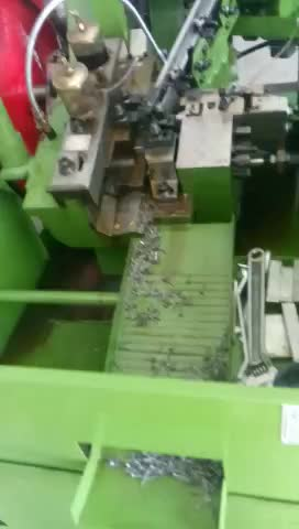 high speed thread rolling machine flat die screw making machine