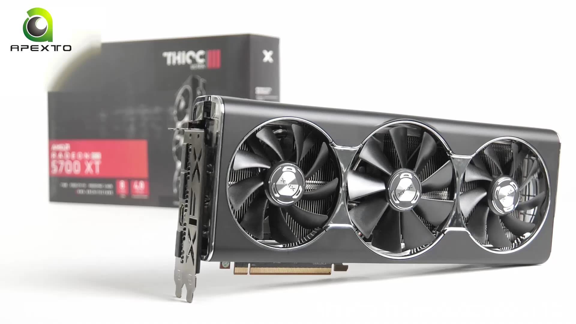 사파이어 Radeon 니트로 + RX 5700 8GB 그래픽 카드 RX 5700 비디오 카드
