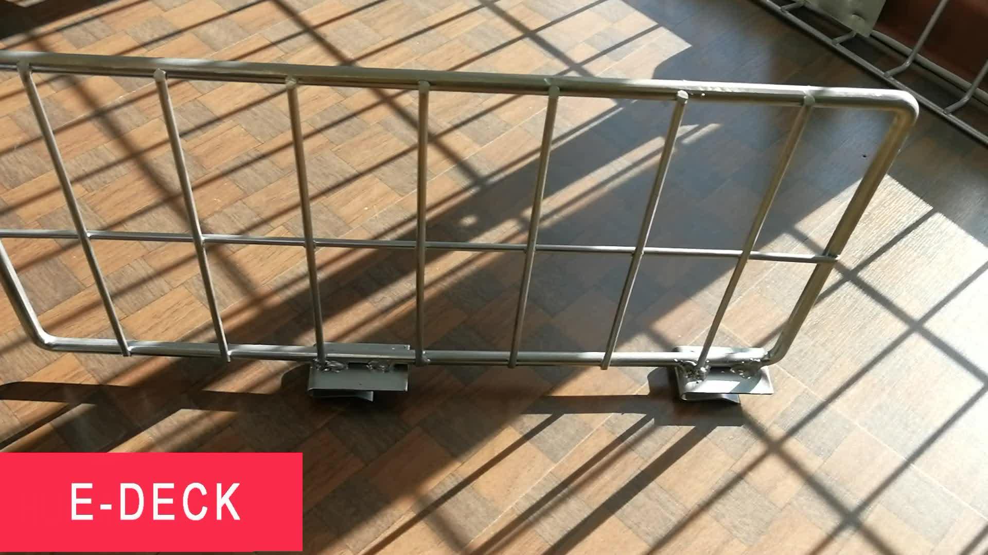 Özel depo ayakta clip-on snap-in palet raf metal çelik ızgara dikey tel raf bölücüler