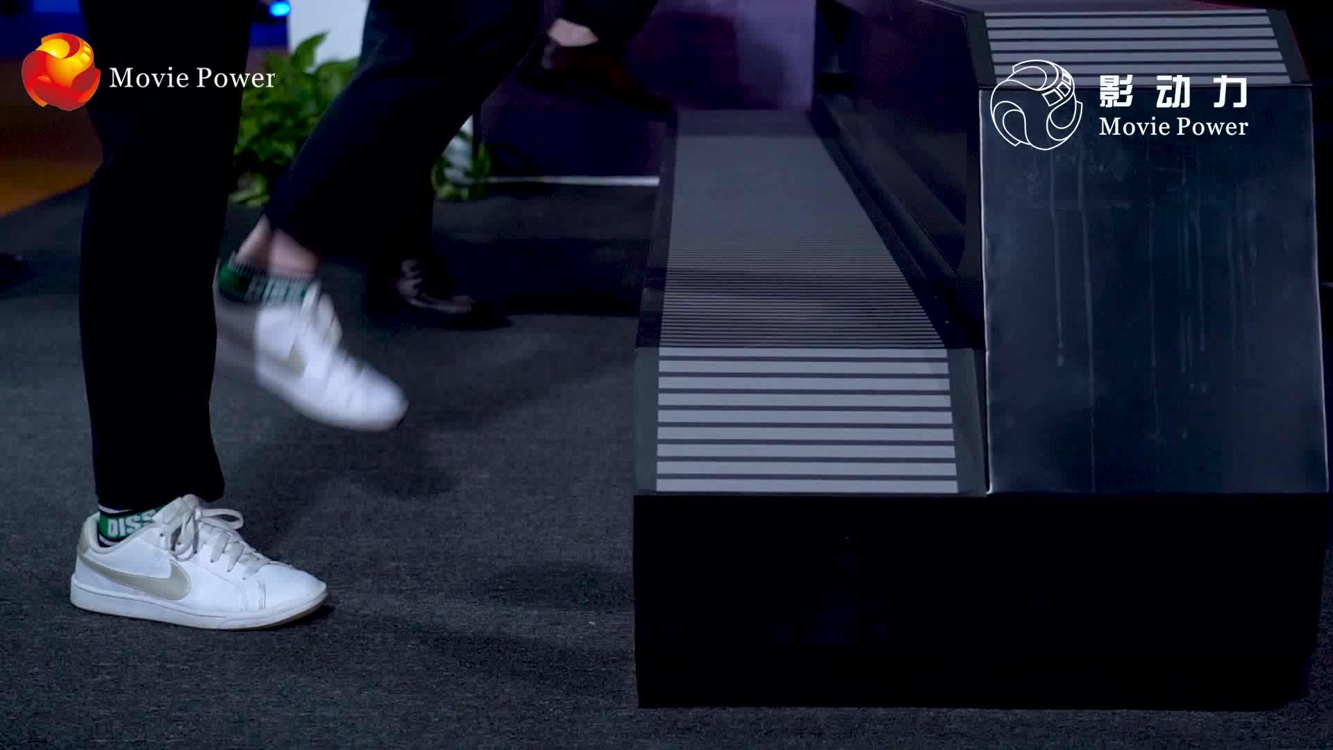 La nuova Tecnologia Realidad Virtuale Simulador 6 Sedili 9D Vr del Movimento Cinema Simulator con 9dvr Gioco