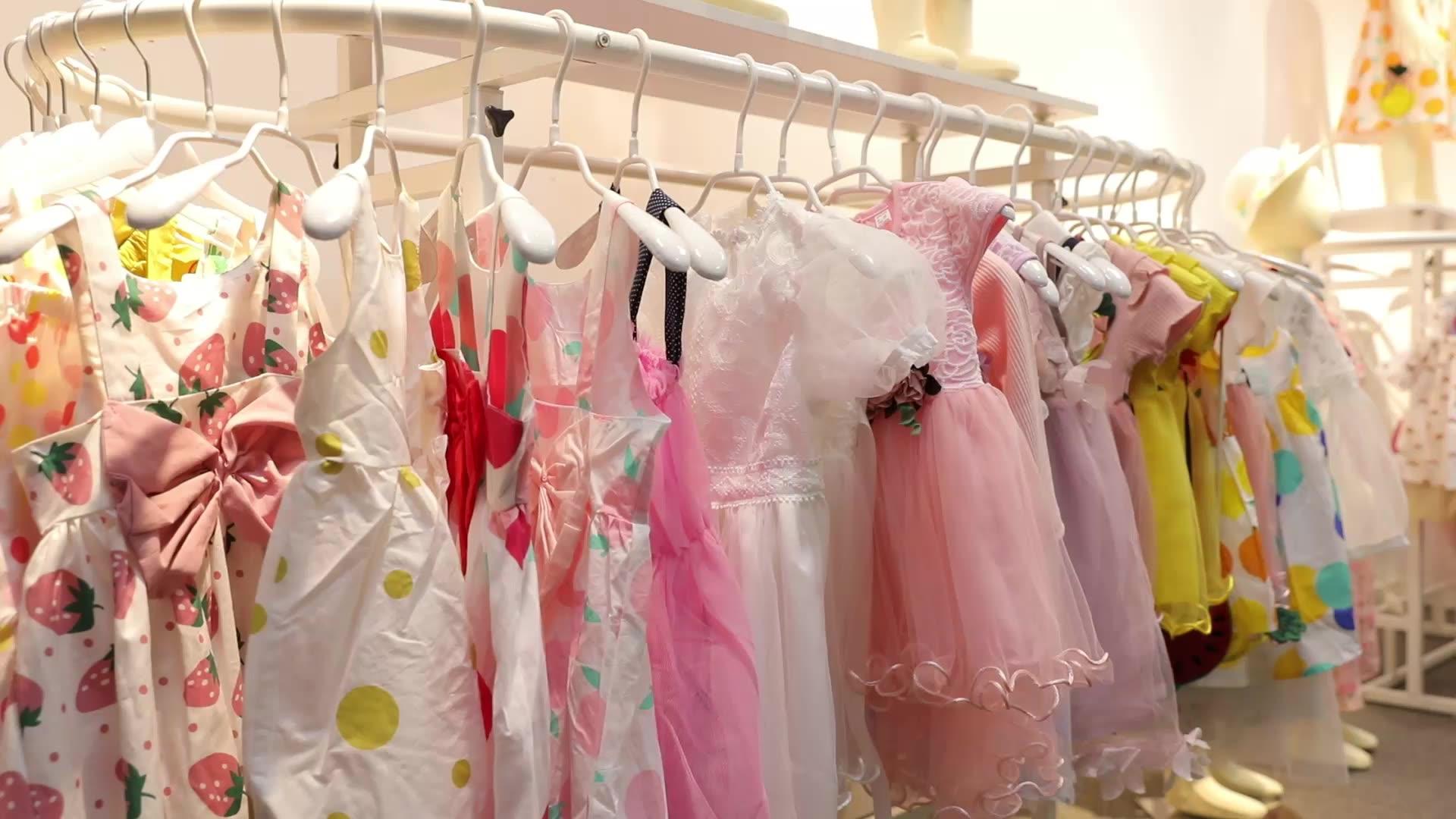 new comfortable kids dress baby girls dress designs