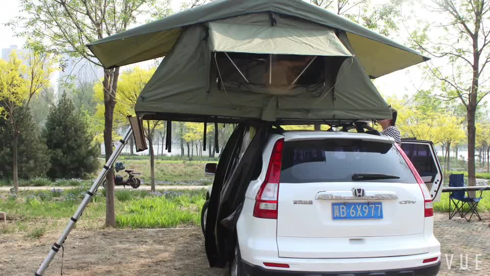 Camping Folding 4x4 mounting roof outdoor car roof top tent--SRT02S-56, FOR 2+PERSON