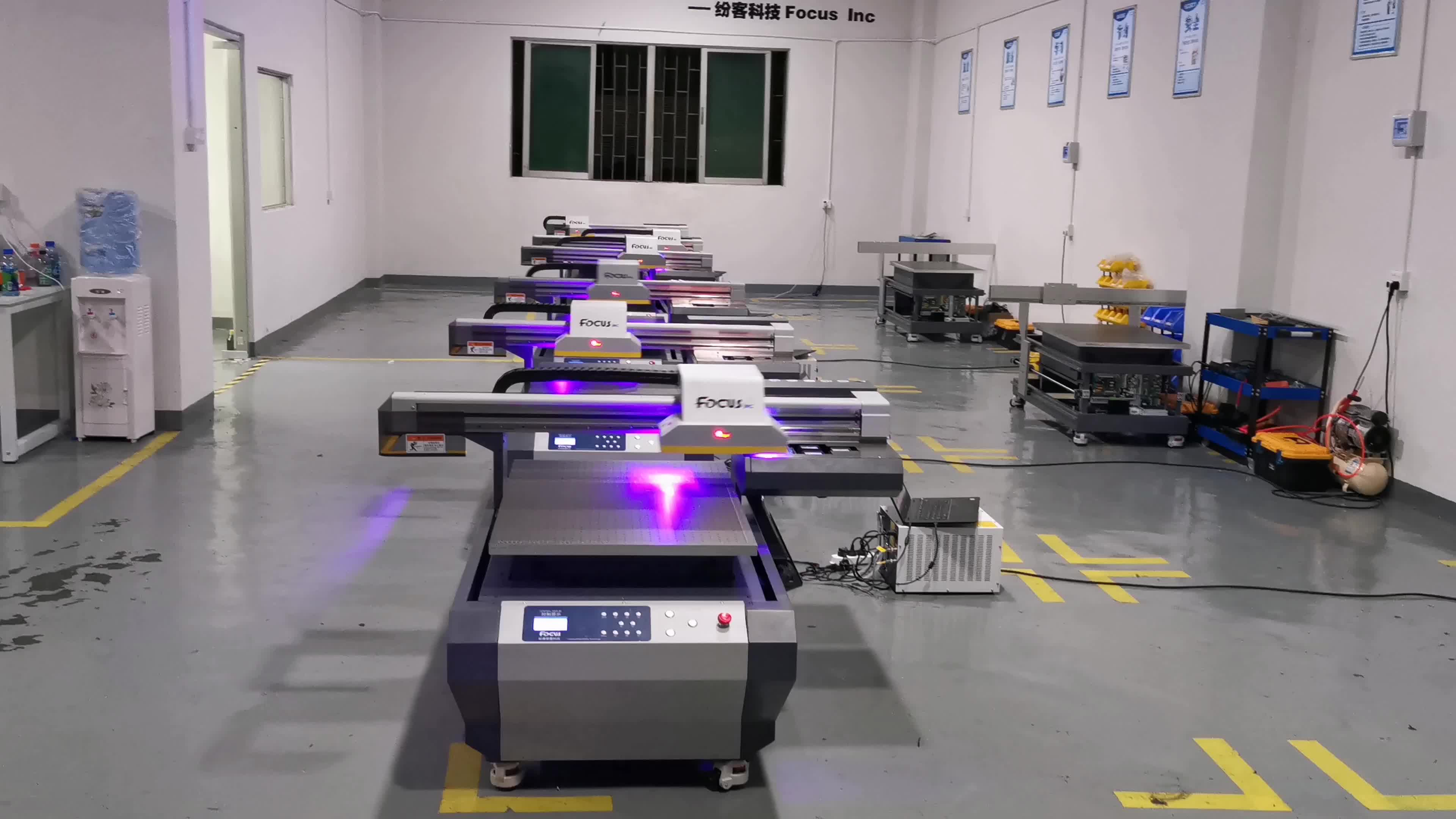 Factory professzional led uv printer 2019 6090 with fair price