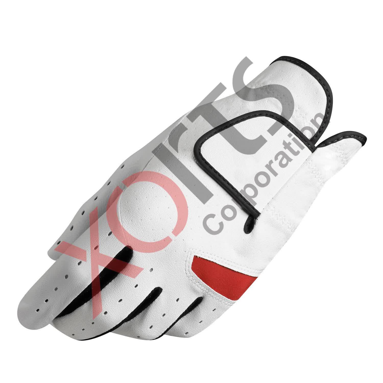 Golf Handschuh Kostenloser Entwicklung Grün Farbe Golf Handschuhe