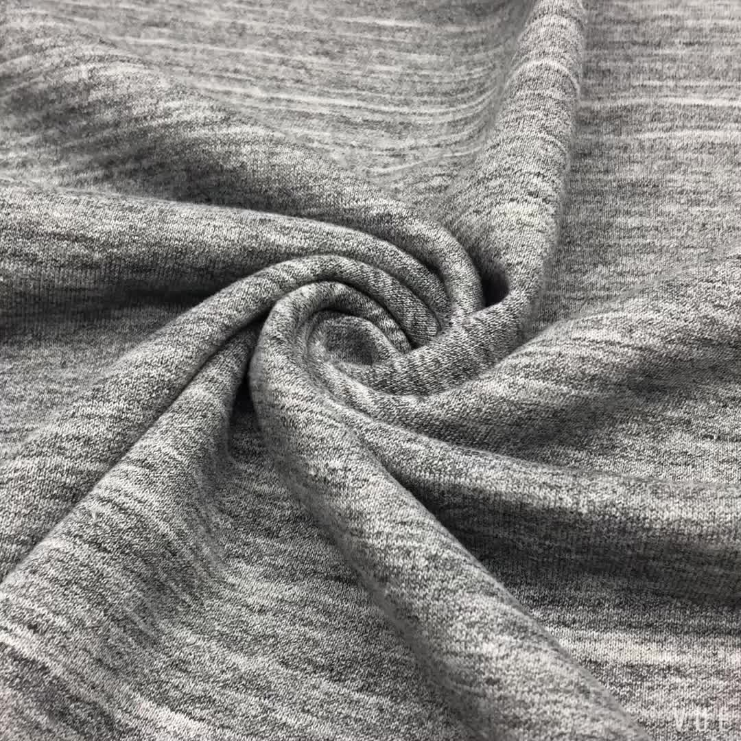 High Quality Different Kinds Knitting Brushed Cvc Cotton