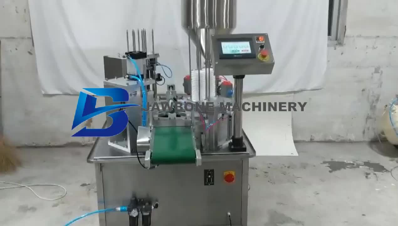 small business sealer honey cup ice cream filling machine fully automatic