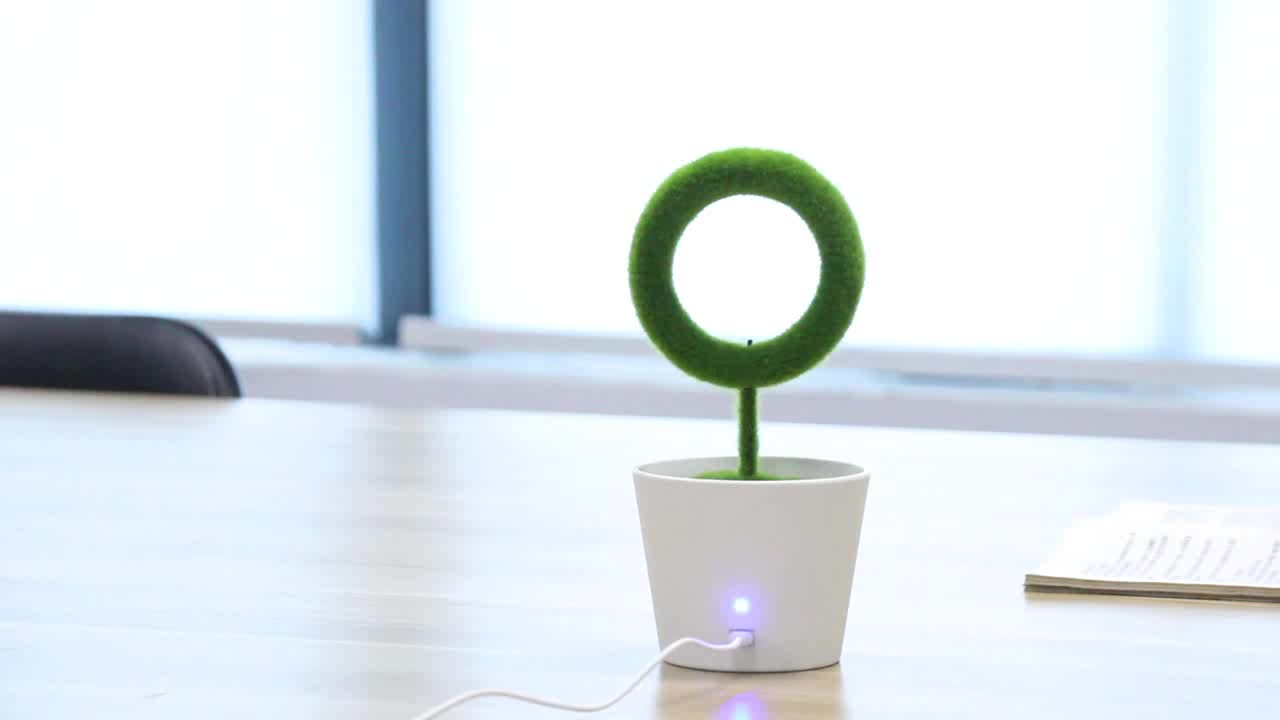 Love Shape Plant Air Purifier Wedding Favors Gifts For Guests