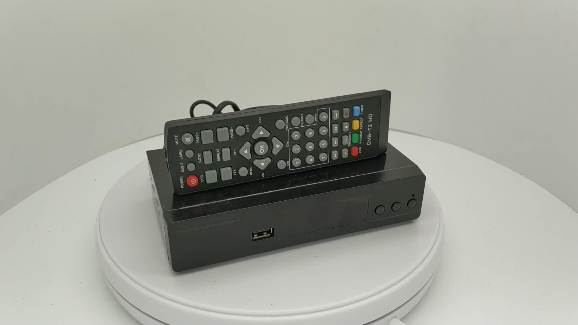 Full HD Digital H.264 DVB-T2 TV Box DVBT2 Receiver DVB T2 Set-Top Box