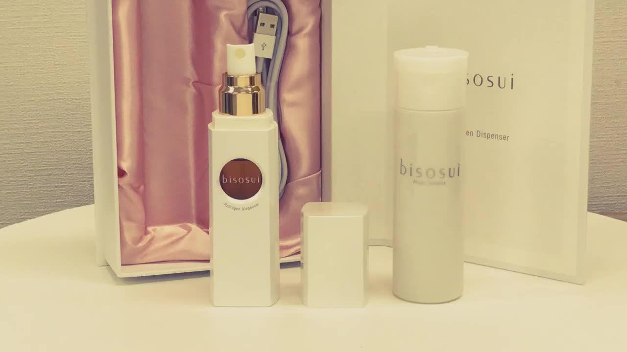 Hydrogen Dispenser Beauty Essence BISOSUI made in Japan