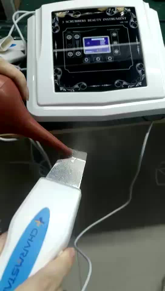 Professional Ultrasonic Operation System acne facial skin scrubber