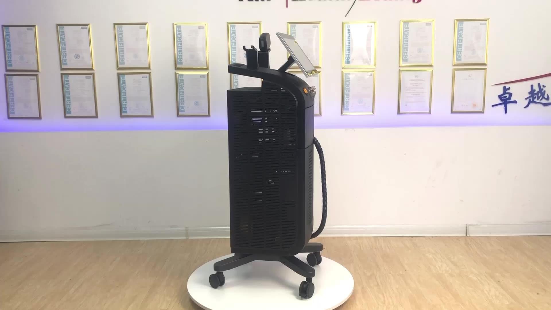Deko — laser soprano ice platinum, diode pour épilation des poils, 808, prix machine