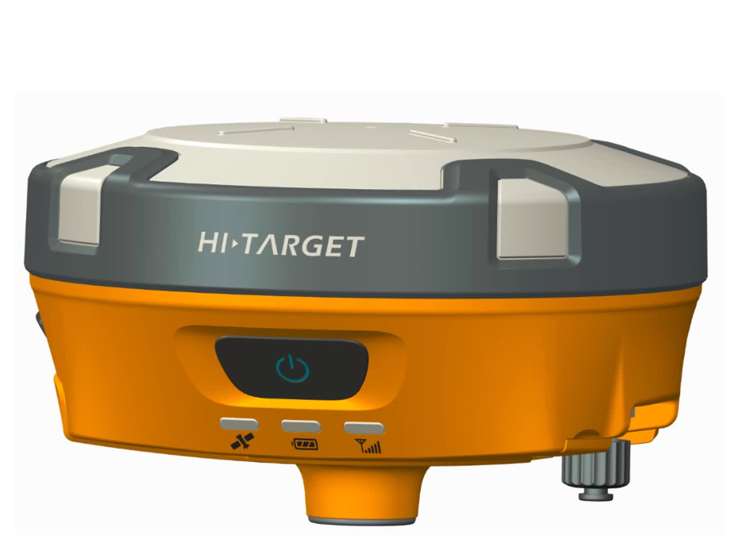 high precision  smallest size Hi-target V90  GNSS RTK GPS  with  30 degrees tilt  survey
