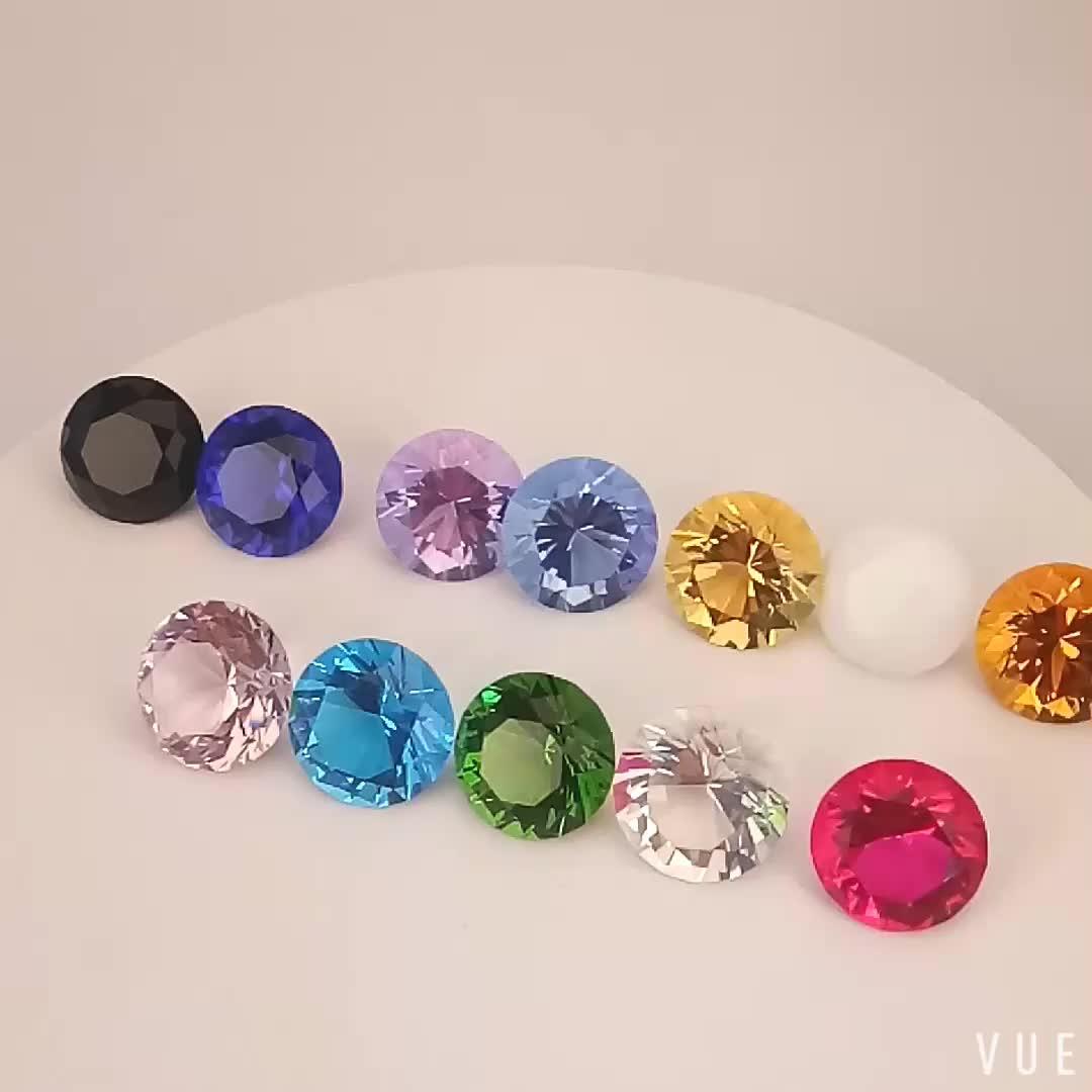 فاخر قاعة الديكور كريستال K9 الزجاج متعدد الألوان الماس ثقالة الورق السائبة كريستال الماس