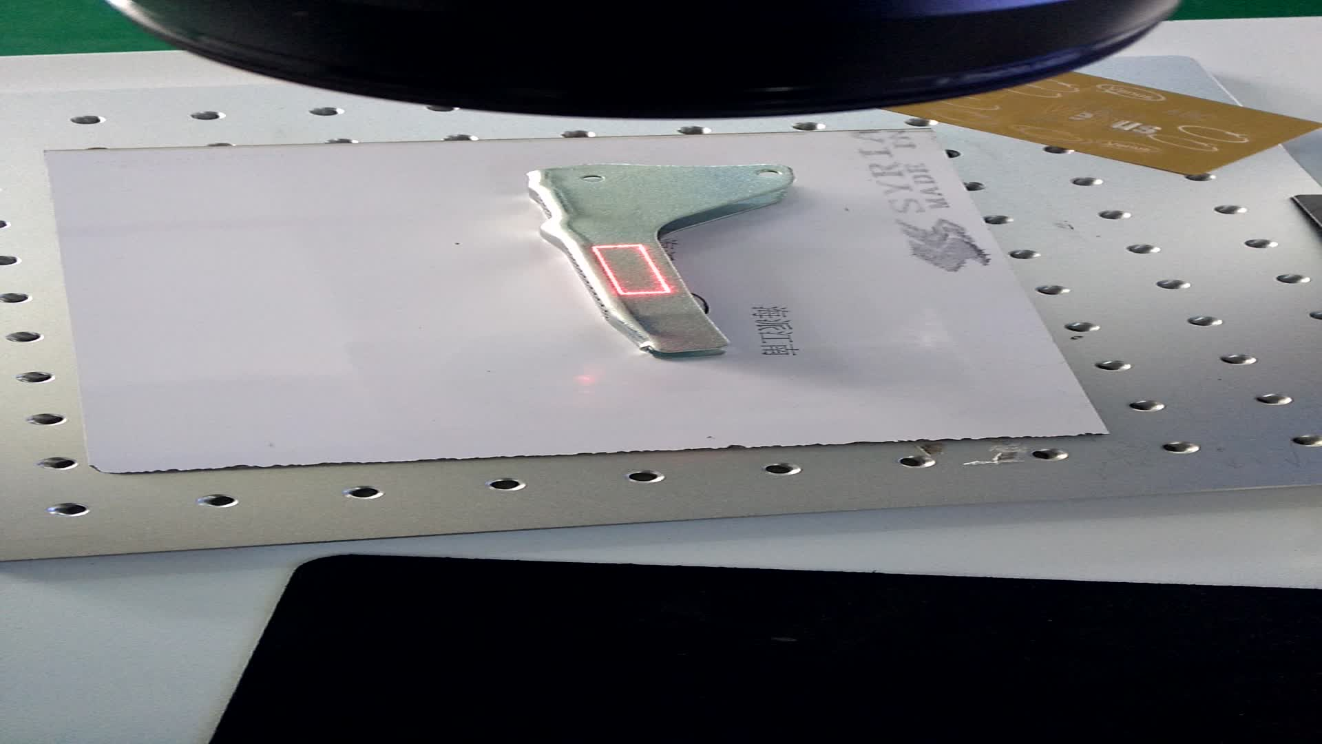 20 w Toetsenbord muis scherm shell computer onderdelen goedkope laser graveermachine markering machine