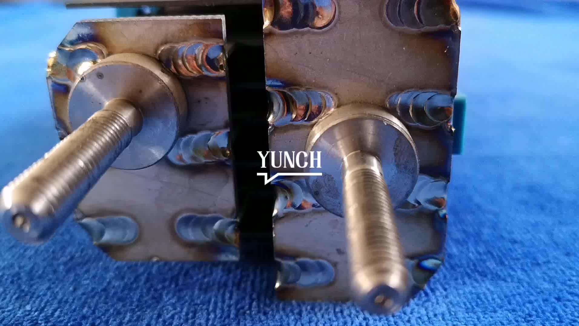 MMO Gecoate Plaat Titanium Elektrode voor Zout Chlorinator