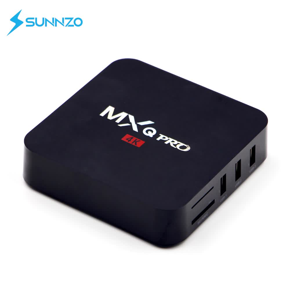 Factory OEM  4K 1080p Full HD Blue  Video Streaming Media Player Android TV Box