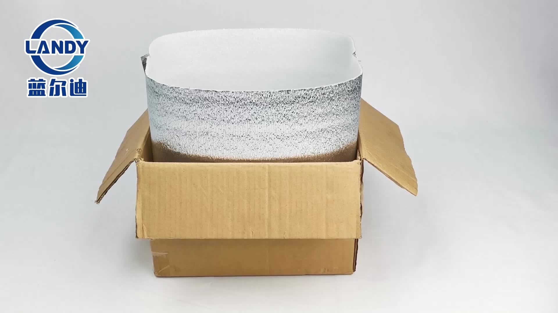 Insulating foil 3d isolation box liners thermal insulation bag