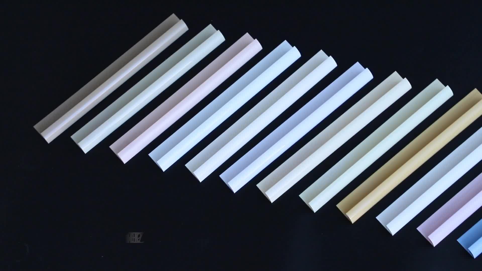 Professional Manufacture Plastic Edge Corner PVC Tile Trim Malaysia for Tiles