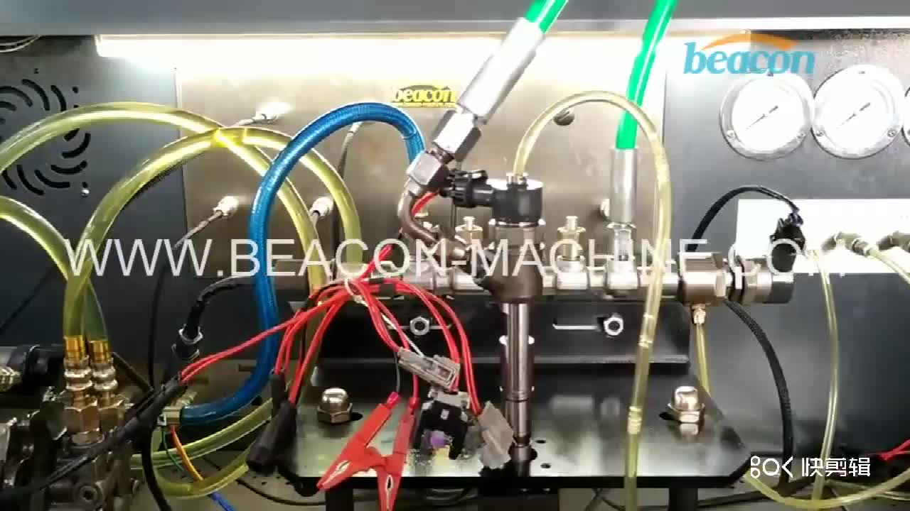 Shandong beacon auto diagnostic BC-CR708 electrical Heui common rail diesel injector pump test bench stand