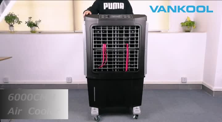 2019 new design Portable Air Cooler 60L Water Tank 230W