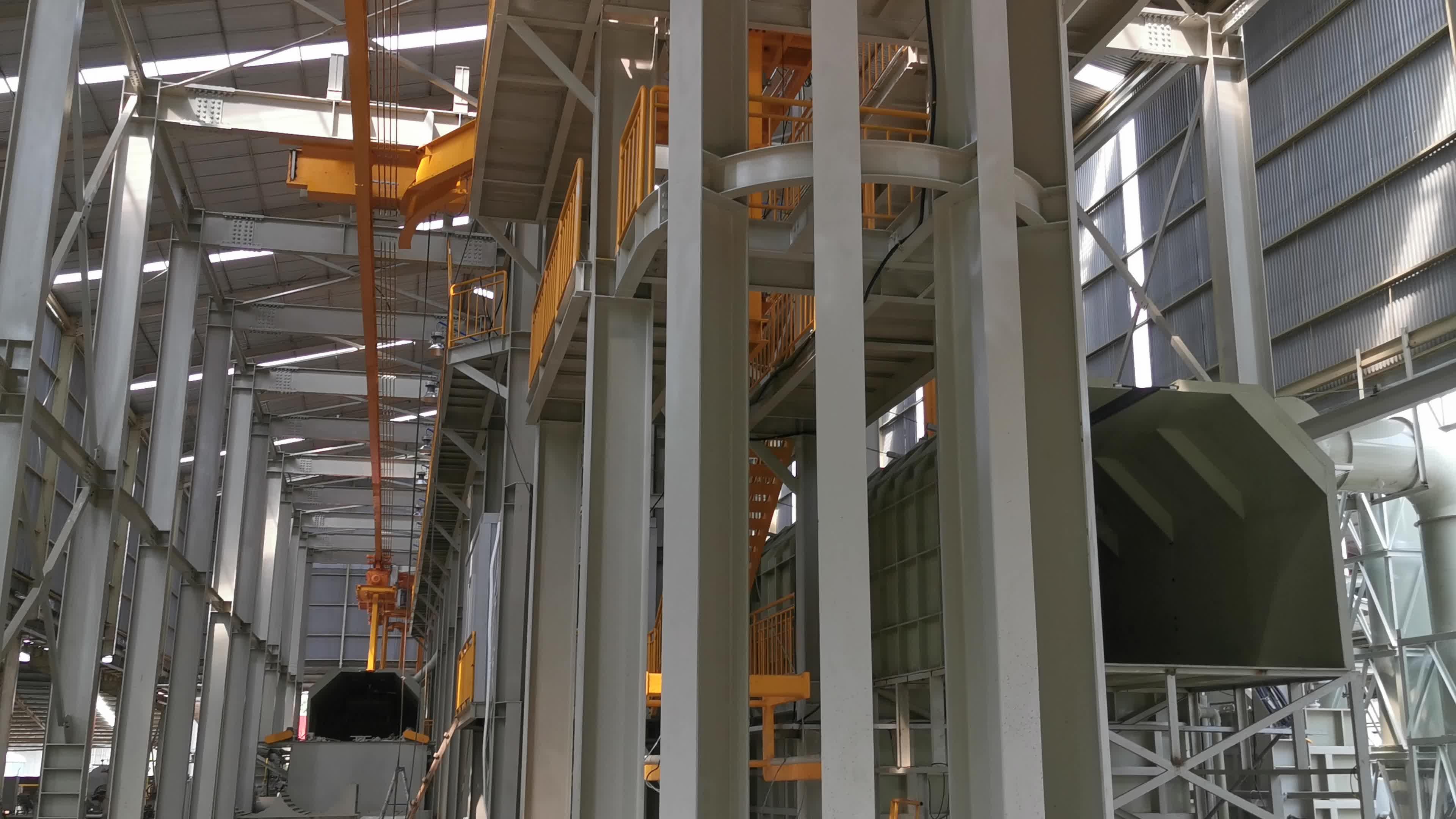 Industriële automatische continue rvs beitsen lijn machine