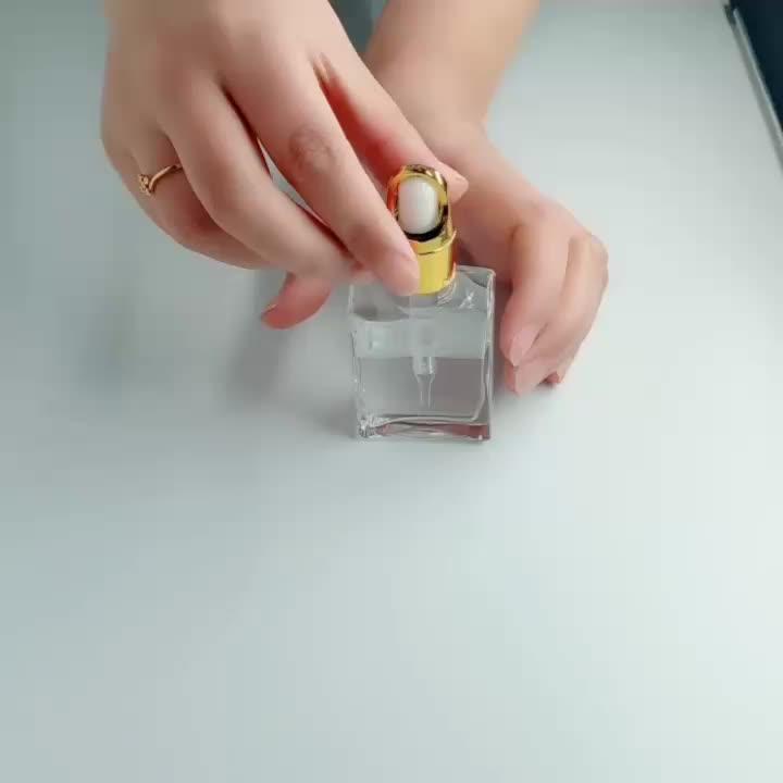 Custom 5ml 10ml 20ml 30ml Matte Black Frosted Glass Squeeze Dropper Bottle