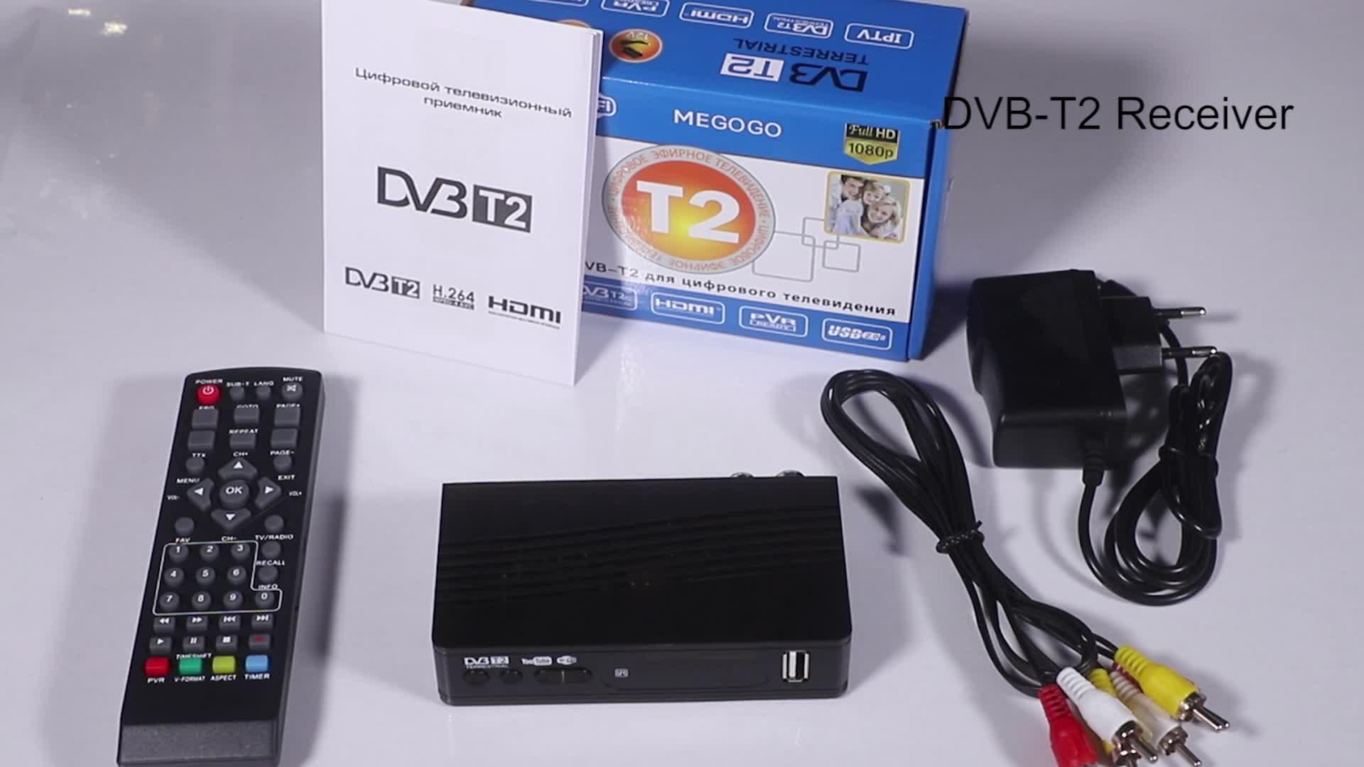 DVB-T2 для Колумбии dvb t2 set top box с wifi в наличии