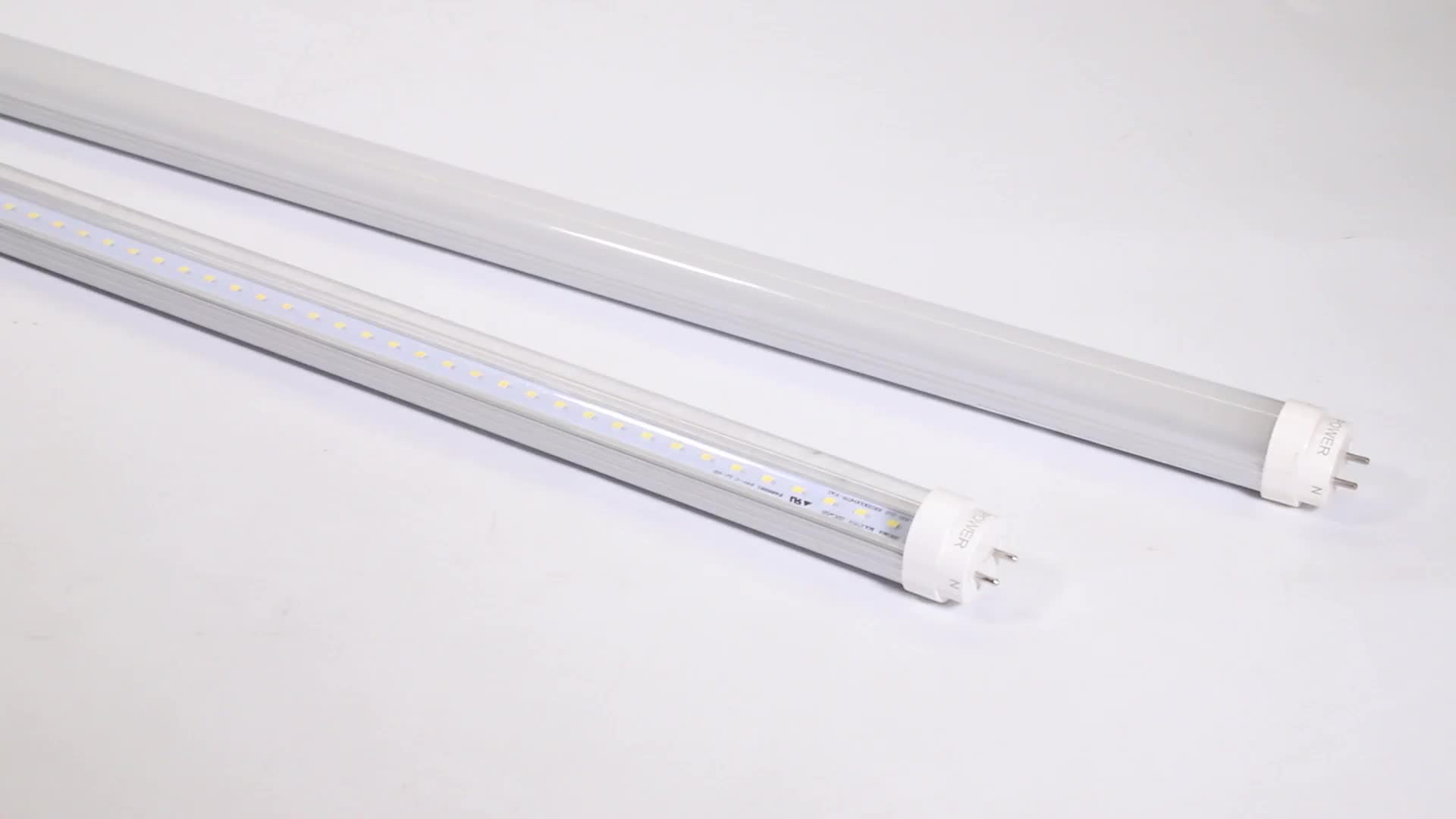 Hot sale CE led tube t8 16w 4ft 1200mm with G13 for indoor lighting 6000k Cool white SMD2835 tube light fixture for projects