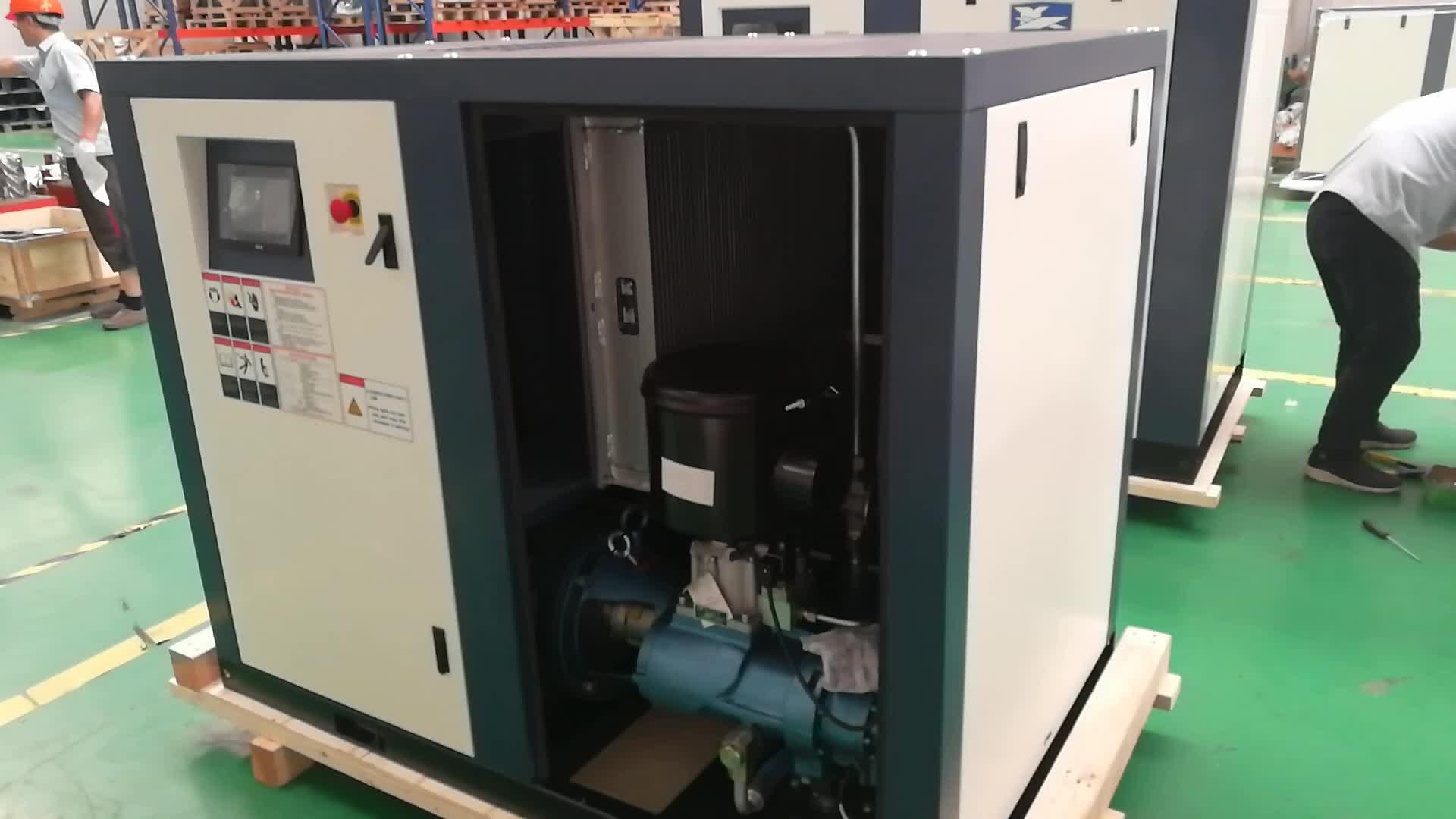 N30FS 30KW Energiebesparing Luchtgekoelde Direct Gedreven Olie-geïnjecteerd Schroef elektrische luchtcompressor comprimeren zonder tank