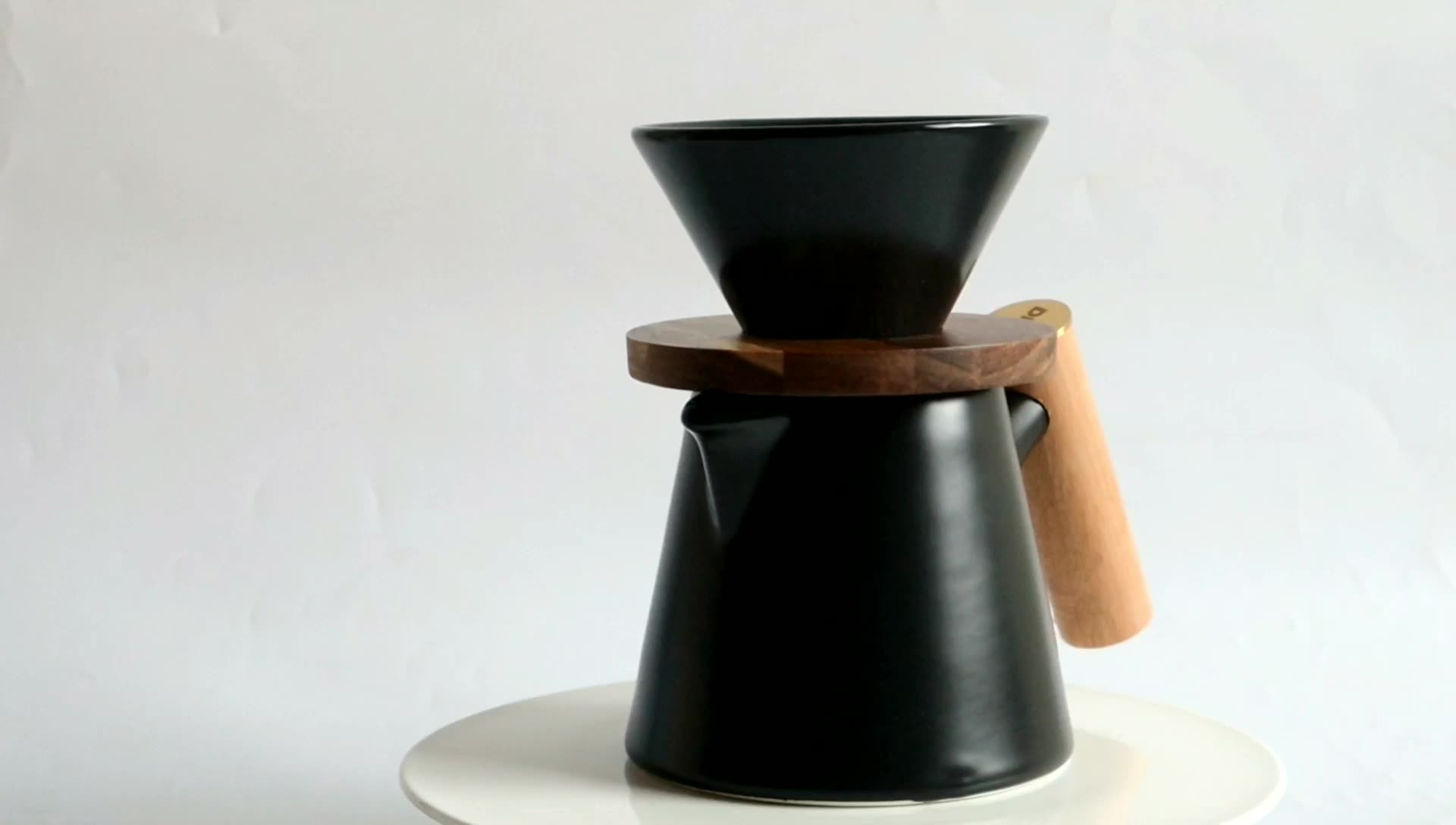 DHPO V60 Keramik Pour Over Coffee Dripper