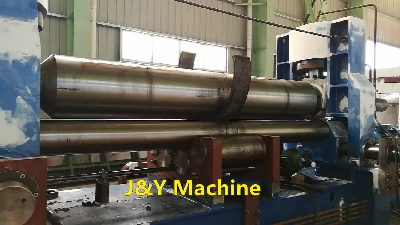 6x2500mm 3rollers mechanical Plate Rolling Bending Machine