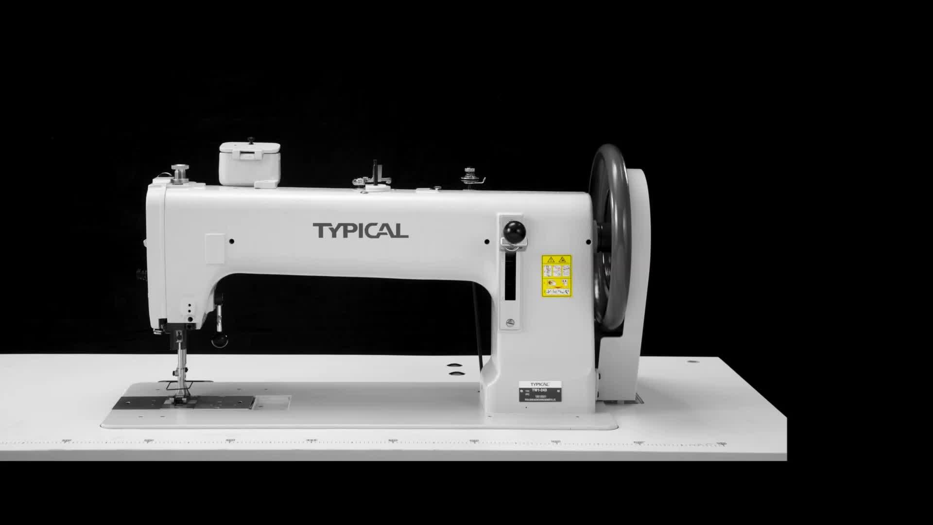 TW1-243Q Extra deber cinturón de seguridad sastrería máquinas de coser precio industrial