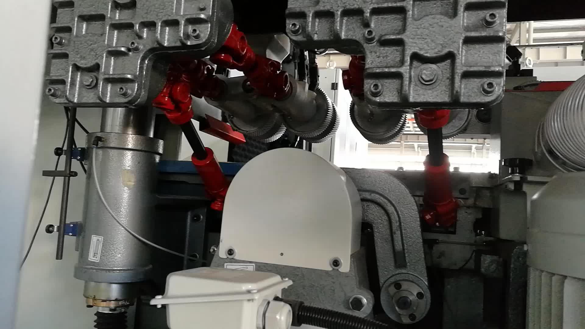 Máquina do Moulder lateral da plaina da madeira 4 com o eixo 6