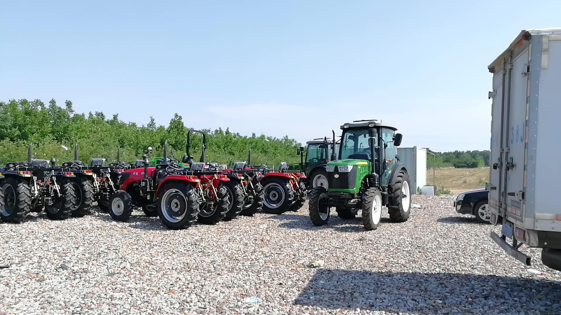 65 हिमाचल प्रदेश सीई कृषि सस्ते चीनी छोटे से खेत के साथ जापान ट्रैक्टर बिक्री के लिए सामने अंत लोडर और बेकहो के साथ फिलीपींस
