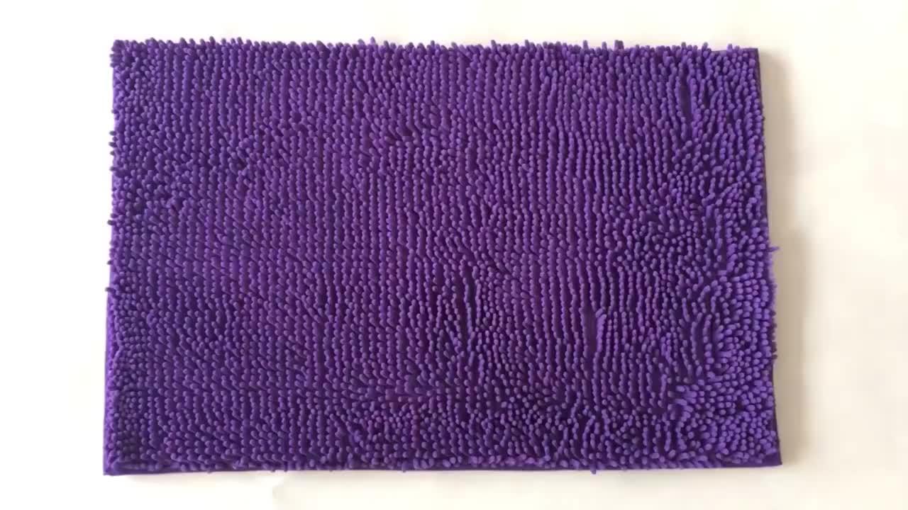 polyester multicolor microfiber latex carpet backing