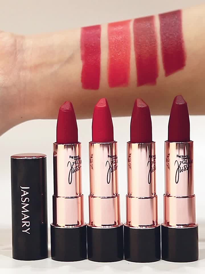 Lip makeup factory wholesale price elegant women lasting Glam Kiss Fog Touch Lipstick