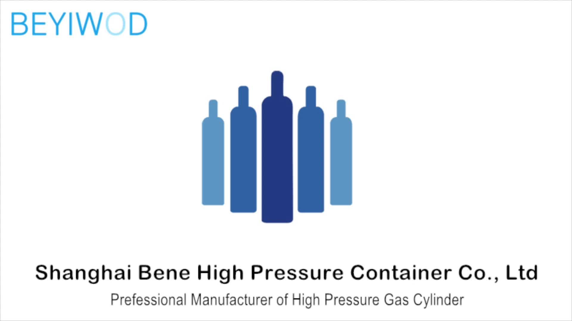2L 5L 6.7L 8L 10L 13.4L 20L CO2 Cylinder Mixed argon Steel Gas Cylinder
