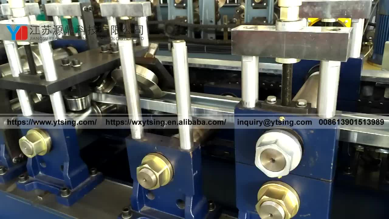 Special Steel Profile Air Plank Galvanized Iron Making Equipment Roll Forming Machine