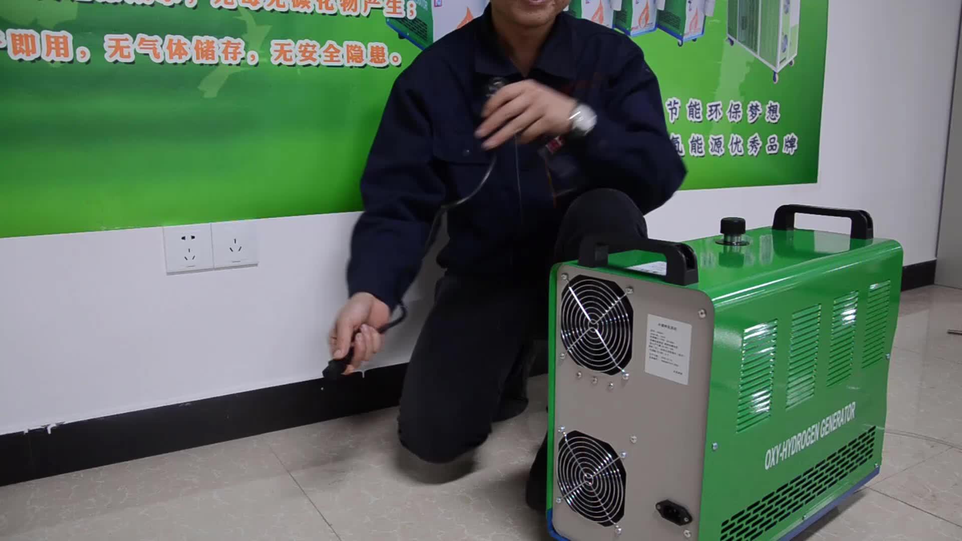 OH100-OH600 Top1 Portable Hho OXY Hidrogen Harga Generator untuk Pengelasan