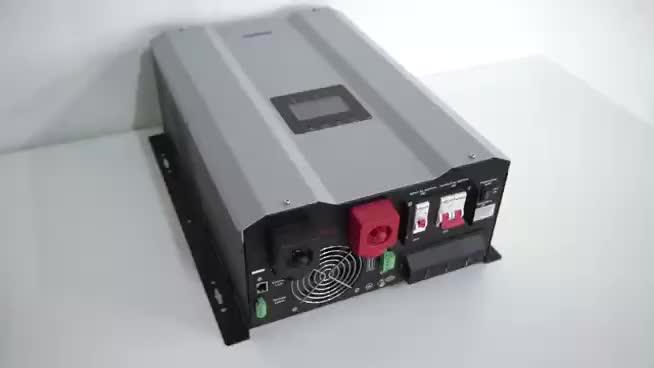 12000 Watt Reine Sinus Welle ac Inverter 15kva 48 v 12000 watt Hybrid Off Grid Solar Inverter