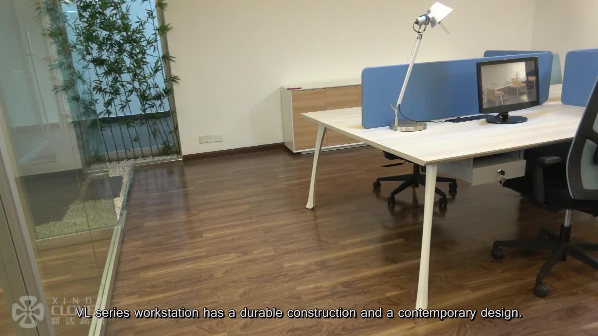 Hot sales hoge kwaliteit 4 persoon nieuwe model modulaire stalen metalen workstation open gebruikt moderne bureau meubelen