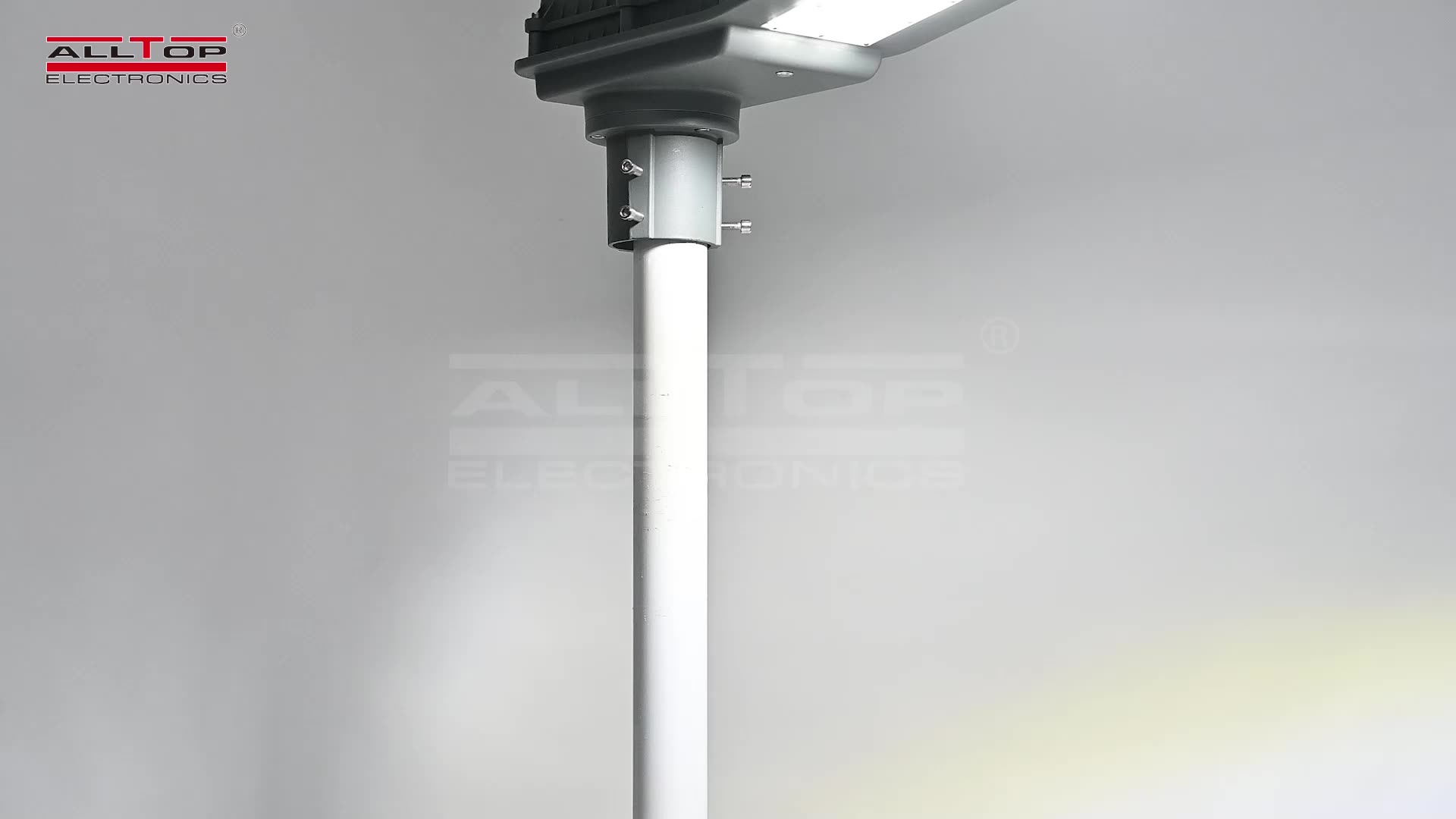 ALLTOP yol lambası üreticileri ip65 alüminyum gövde 40 w 90 w güneş led sokak lambası